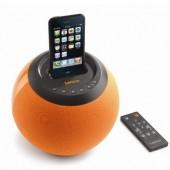 コロッとかわいいのに迫力あるサウンドのLenco iPodボールサウンドステーション