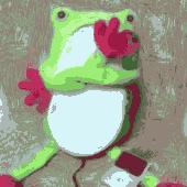 カエルのiPhoneスピーカを貰いました★☆★