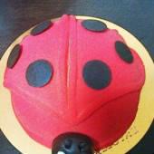 てんとう虫の形をした美味しいダロワイヨのケーキ☆☆☆
