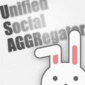 Twitter,Facebook,Mixiなど複数のSNSを一括で閲覧、投稿が可能なSNSアプリ「Usaggr」(無料)