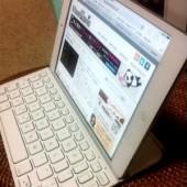 iPad mini と一体化する超クールな Bluetoothキーボード(๑・㉨・๑)♡