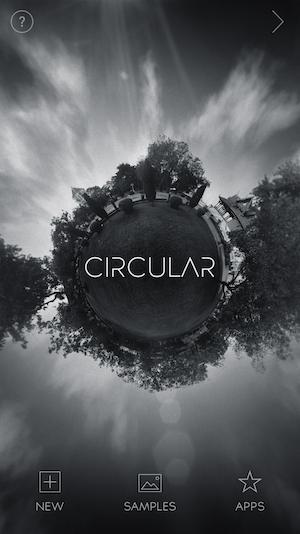 Circular app(photo editorial)