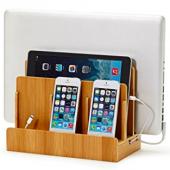 iPhone /Android/ iPad/ Mac PC などをまとめて収納&充電ができるボード!
