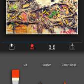 写真も動画も!手描き風写真加工アプリ「artmaton」(無料)